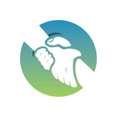 Hand help icon.