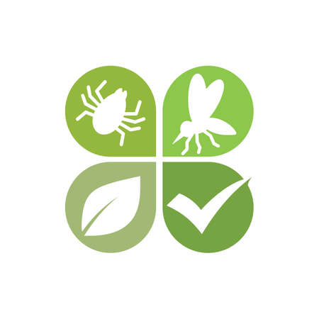 Pest control illustration Vettoriali