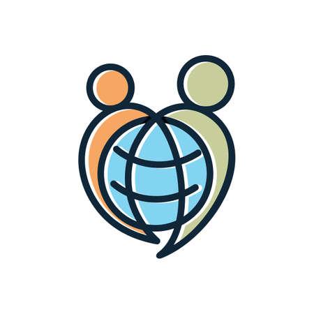World care illustration.