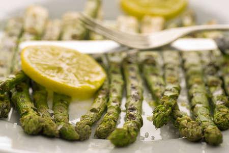 grilled asparagus Reklamní fotografie