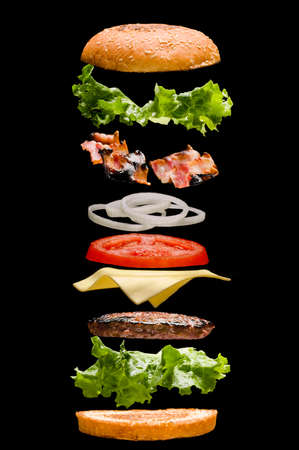 Burger Standard-Bild