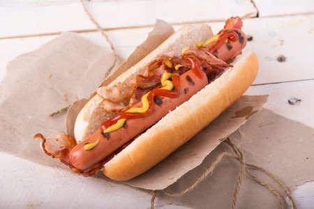 hot dog Reklamní fotografie