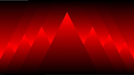 Abstract background 3d triangle with red black colorful Ilustrace