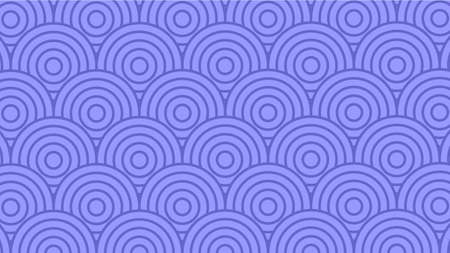 Circle Japanese Wave Background Pattern Purple Colorful Vector 일러스트