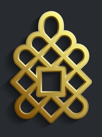 Islamic oriental pattern