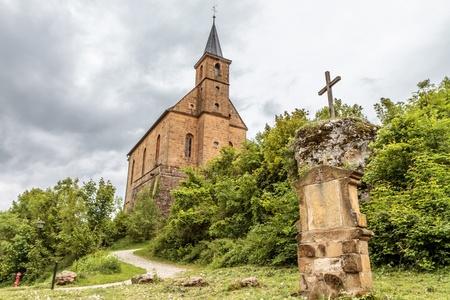 catholic chapel: Medieval Catholic Chapel in the Hills