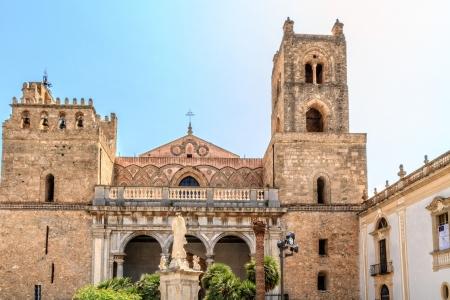 beroemde kathedraal van Monreale op Sicilië, Italië
