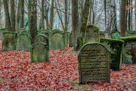 Old Jewish Graveyard in German Bavaria