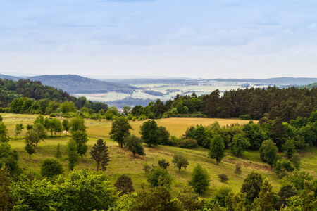 Bavarian Spring Landscape photo