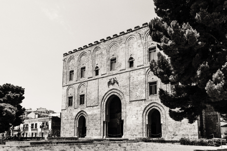 La Zisa in Palermo Sicily, shot of one of the best preserved Norman castles in Sicily