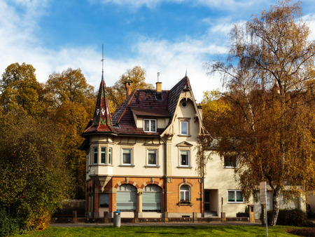 baden wurttemberg: Historical House Villa in the City of Tuttlingen in Baden Wurttemberg Editorial