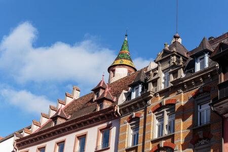Colorful Historical Turret in Villingen