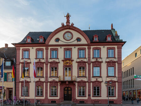 baden wurttemberg: Historical House in the german city of Offenburg in Baden Wurttemberg at the border to france