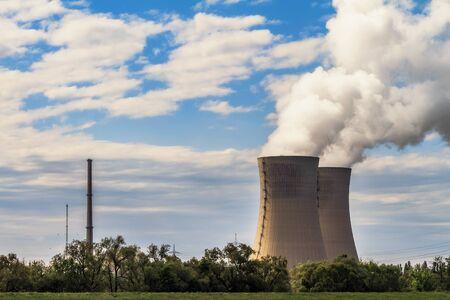 Nuclear Power Plant Grafenrheinfeld near Schweinfurth in Lower Franconia, Bavaria Germany Editorial