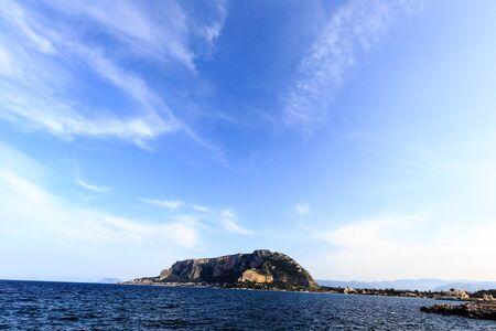 mondello: Mondello Seascape near Palermo Stock Photo