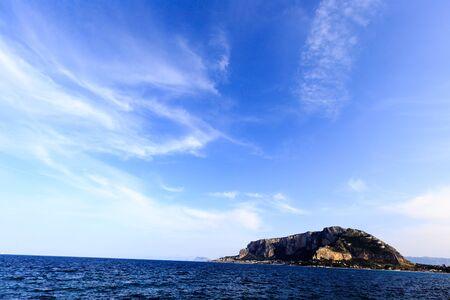 palermo: Mondello Seascape near Palermo Stock Photo