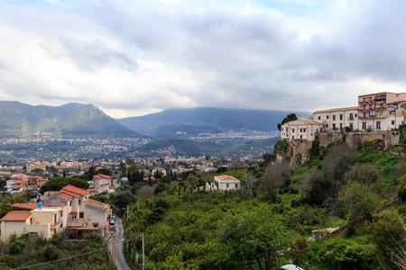 palermo: Sicilian Landscape in Italy near Palermo