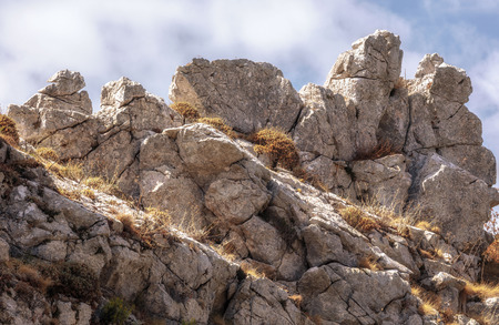 Hiking in the Hills of Ficuzza, Sicily in Italy, Europe. Warm summer like September Afternoon Reklamní fotografie