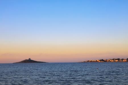 Island of Women near Palermo on Sicily, Italy Reklamní fotografie