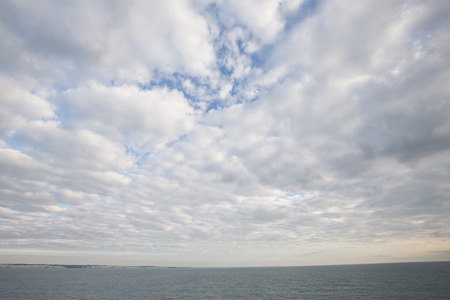 Clouds on the Sea before Dover, England