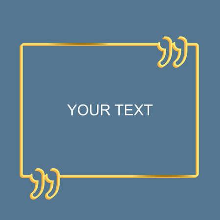 Empty template square quote bubble for message business card empty template square quote bubble for message business card vector illustration stock vector 97781402 colourmoves
