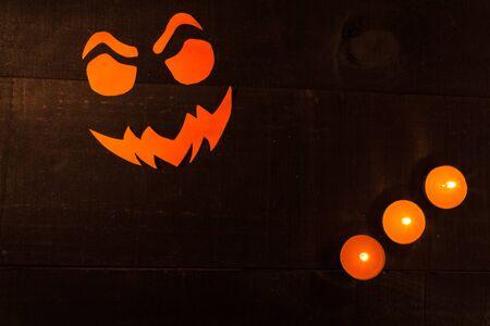 iluminated: Halloween concept