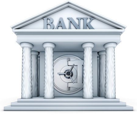 bank rate: credit Stock Photo