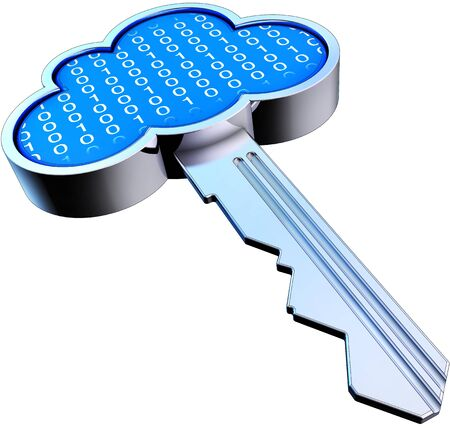 cloud security Stock Photo - 20922645