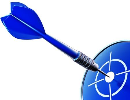 dart blue photo