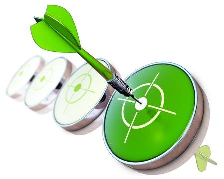 green goal photo