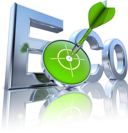 dioxido de carbono: eco Foto de archivo
