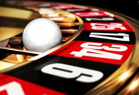 roulette: gioco Archivio Fotografico