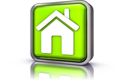 house icon Stock Photo - 20901168