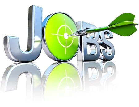 contentedness: jobs Stock Photo