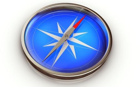 better chances: compass Stock Photo