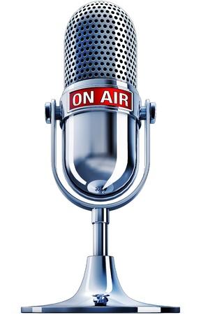 Le microphone air Banque d'images - 20955208