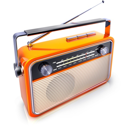 retro radio photo