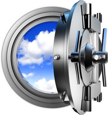 safety cloud computing Stock Photo - 20955883