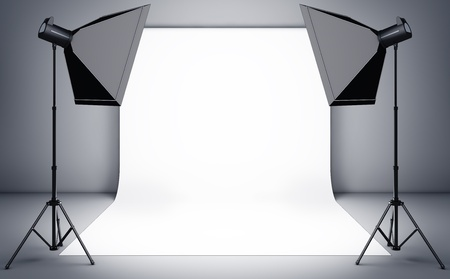 photo studio background: photo studio