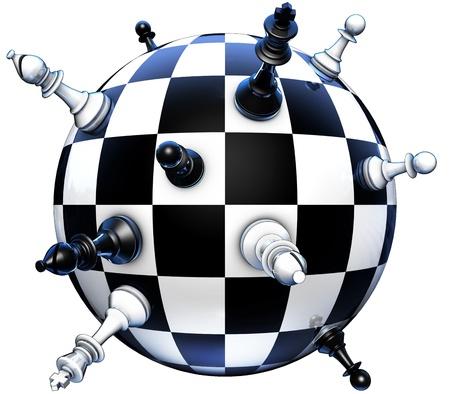 ajedrez: concepto de pol�tica en el ajedrez