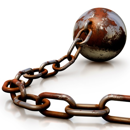 prison ball: arresting concept