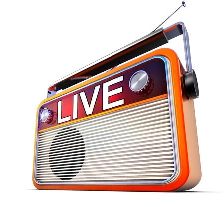 live radio photo
