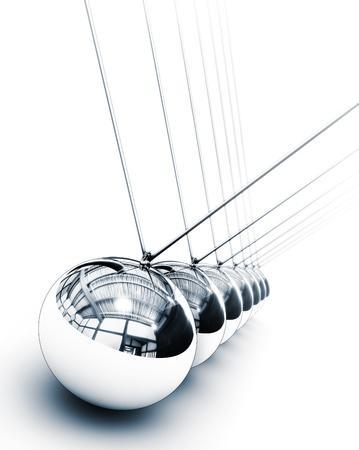 newton cradle: pendulum