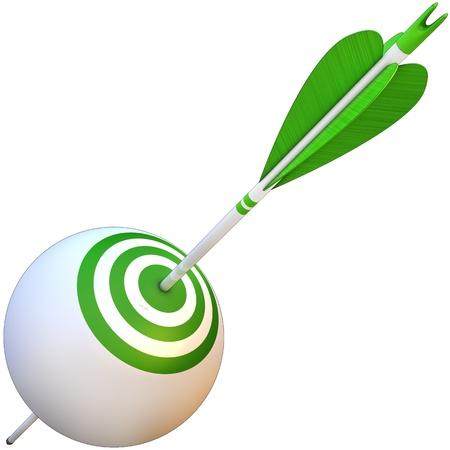 arrow and goal photo
