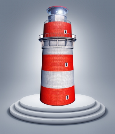 captain: lighthouse