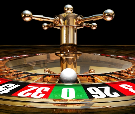 money risk: roulette