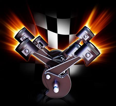 V 엔진 스톡 콘텐츠 - 21087702
