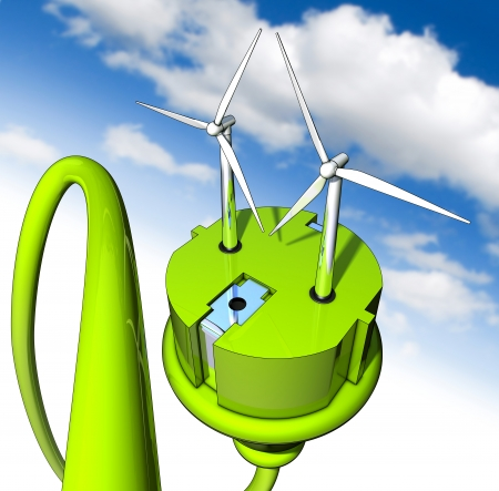 green energy Stock Photo - 21162929