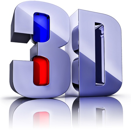 3d: 3D icon Stock Photo