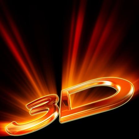 3D icon photo